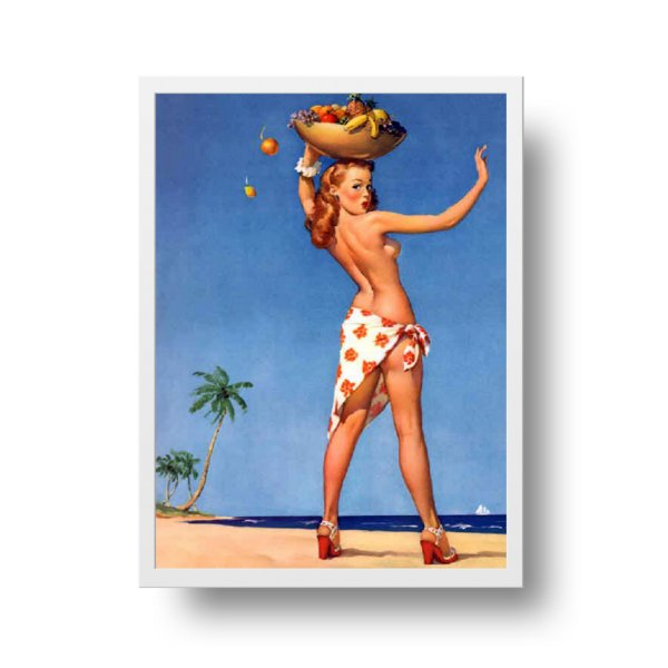 Poster Pin Up - Carmen Miranda