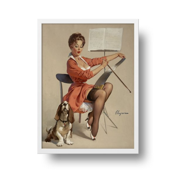 Poster Pin Up - Dog gone good
