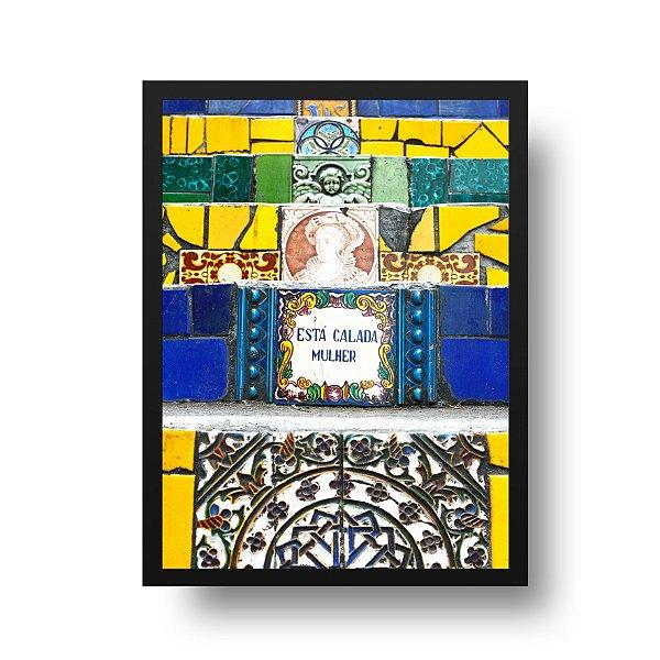 Quadro Fotografia Rio de Janeiro - Arte na Escadaria