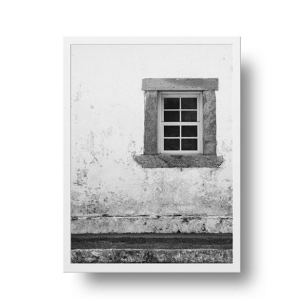 Quadro Fotografia Janela - S. Francisco - Niterói