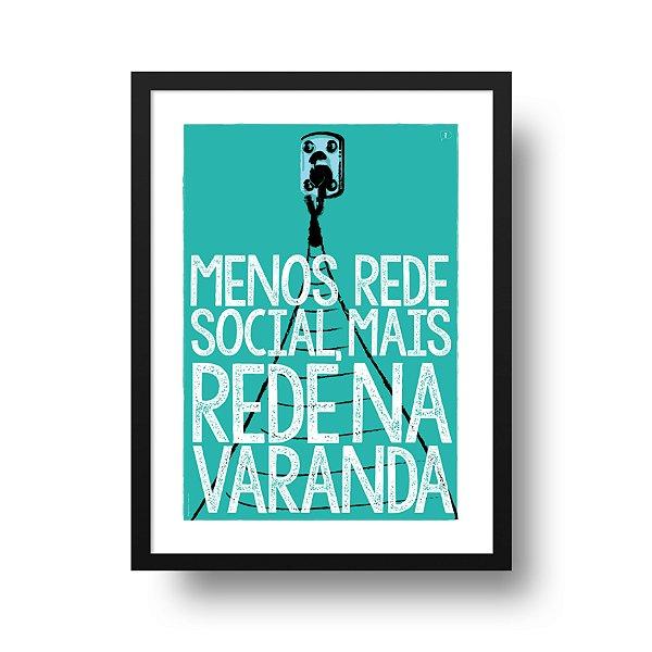 Ponta de Estoque - Poster Rede na Varanda - 1 unidade disponível