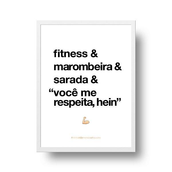 Quadro para Mãe - Fitness