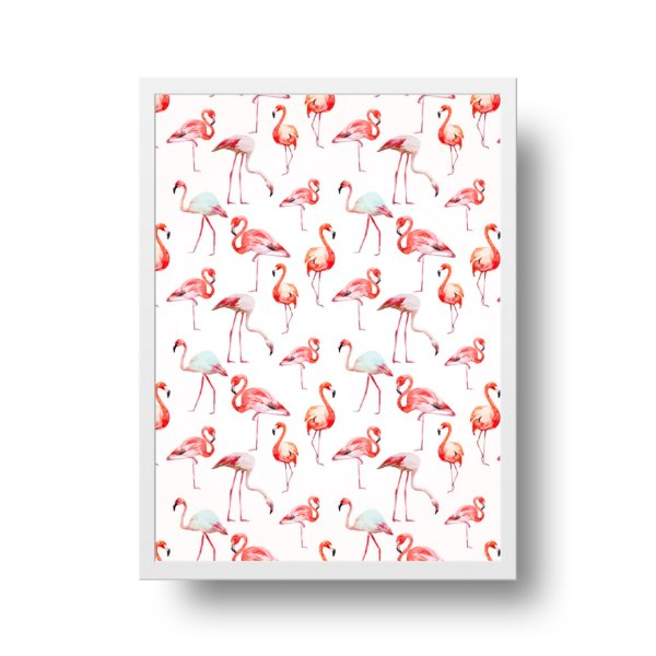 Poster Flamingos