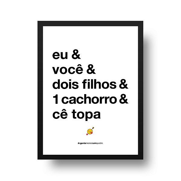 Poster Namorados - Eu & Você