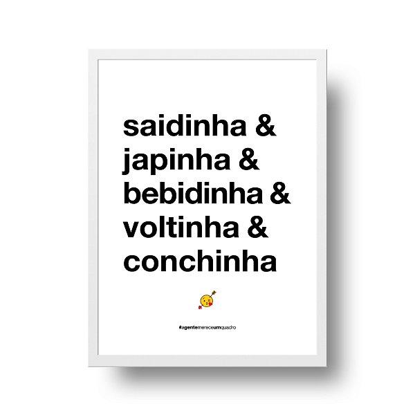 Poster Namorados - Saidinha & Japinha