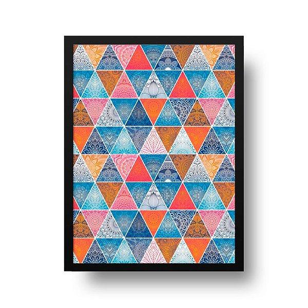 Poster Geométrico - Mandala