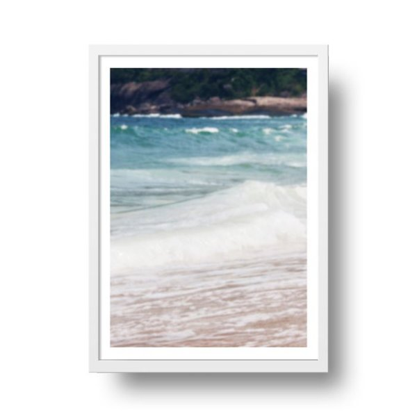 Poster Praia Desfoque