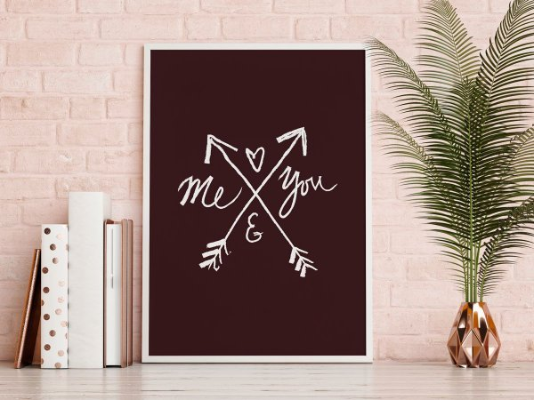 Poster Amor - Me and You