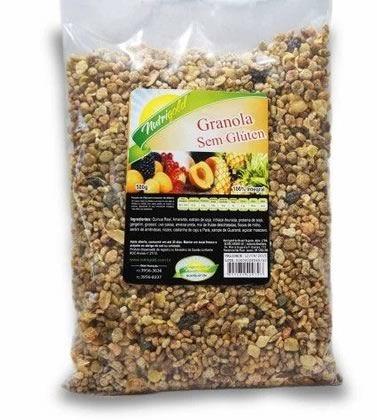 Granola Integral Sem Glúten Nutrigold (500g)