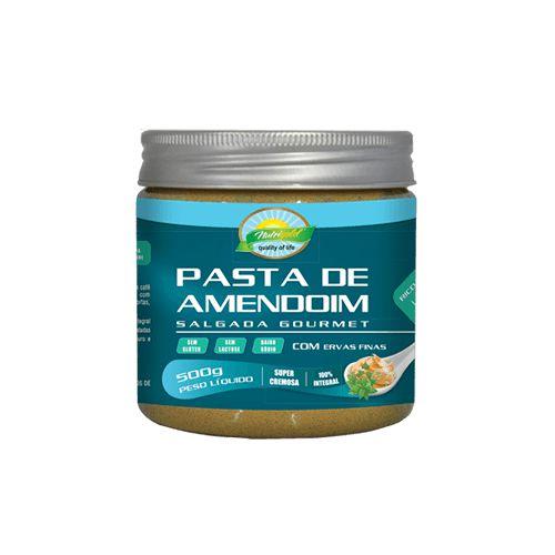 Pasta de amendoim salgada com ervas finas 500g nutrigold