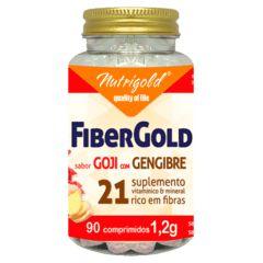 fibergold goji com  gengibre 90 comp 1,2g nutrigold