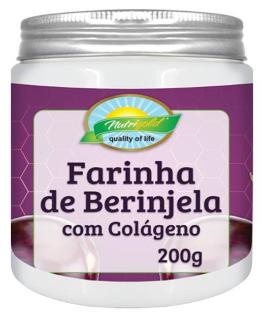 farinha de berinjela c/ colágeno