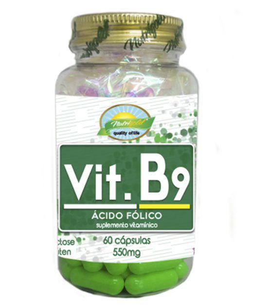 vit B9 nutri gold 60 cps