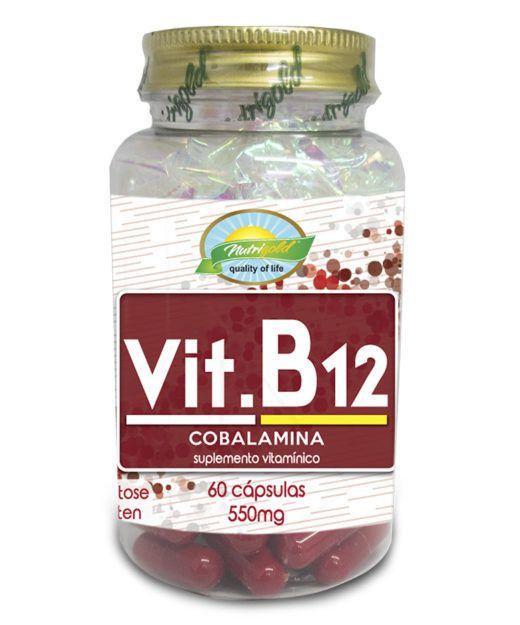 vit B12 60 cps nutri gold