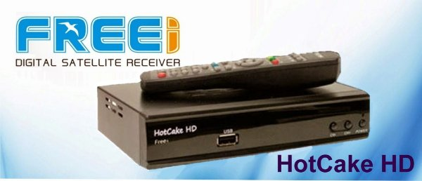RECEPTOR Freei HOT Cake HD (Apenas CS)