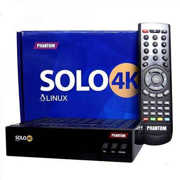 RECEPTOR Phantom Solo 4K - Full HD/WiFi/HDMI/ACM
