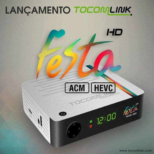 RECEPTOR TOCOMLINK FESTA HD HVEC 265 ACM 4K