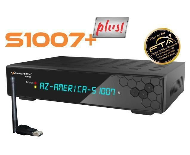 RECEPTOR AZAMERICA S1007 + PLUS HD / ACM