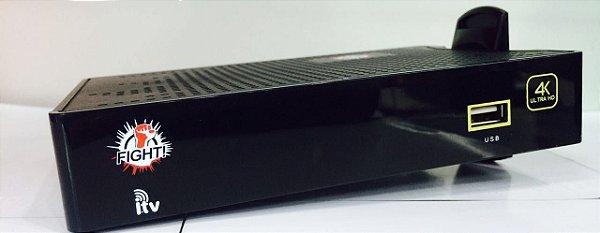 RECEPTOR I-TV FIGHT - IPTV / 4k