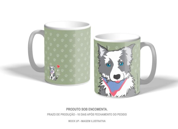 Caneca Border Collie