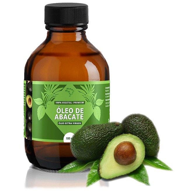 Óleo de Abacate - efeito calmante, cicatrizante e anti-inflamatório.