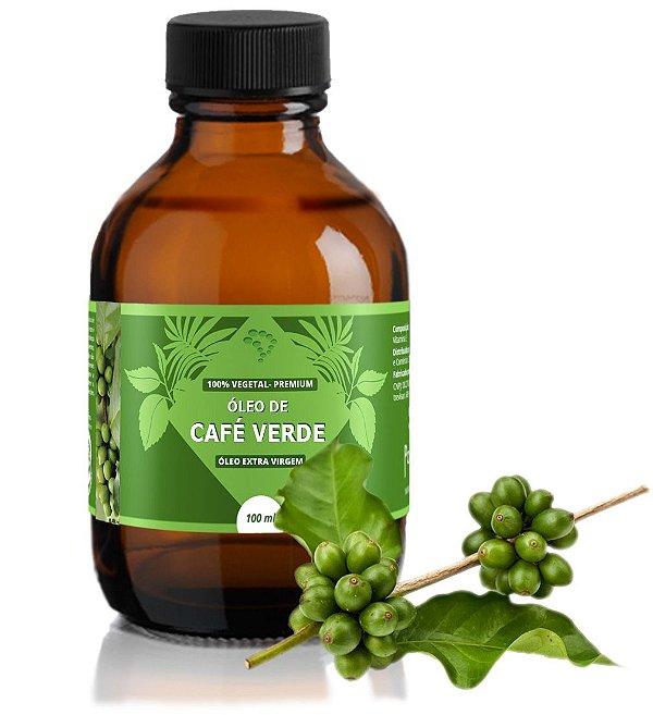 Óleo de Café Verde - hidratante, tonificante, suavizante e antisséptico.