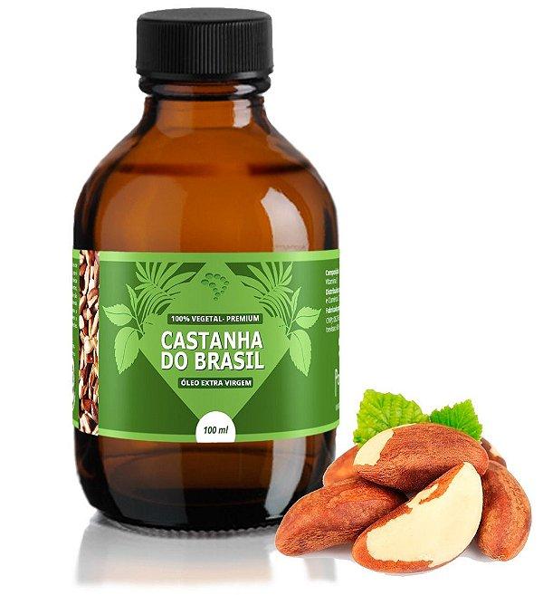Óleo de Castanha do Pará - cicatrizante e hidratante.