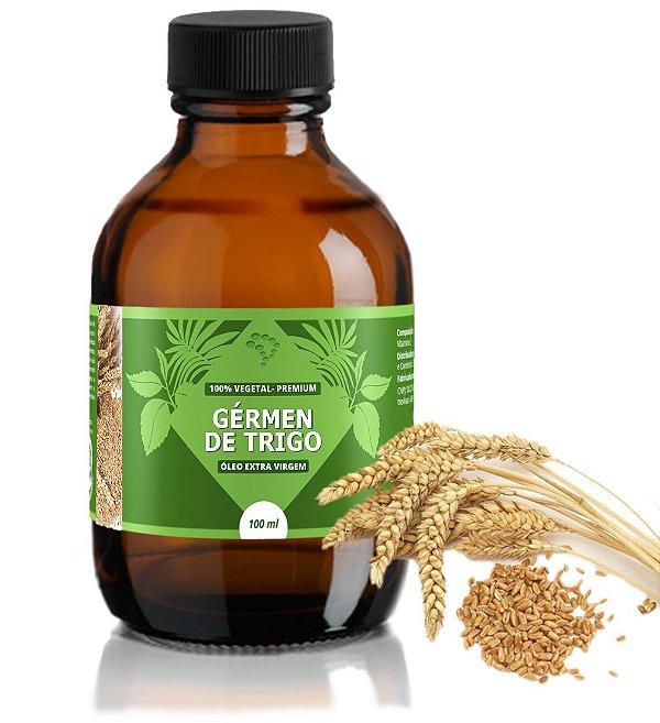 Óleo de Gérmen de Trigo - hidratante, cicatrizante e rico em ferro e potássio.