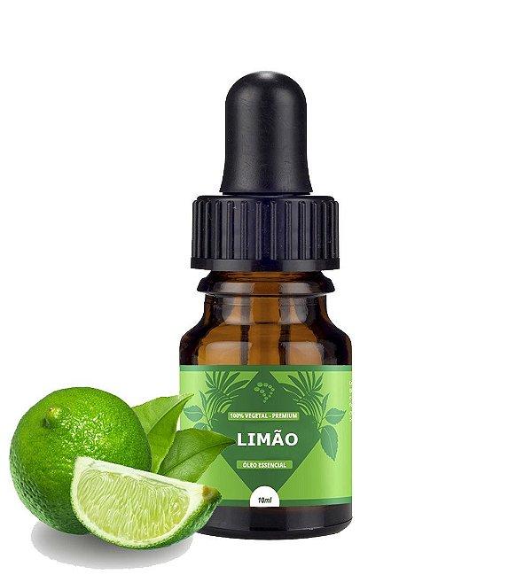 Óleo Essencial de Limão - estimulante, adstringente e depurativo.