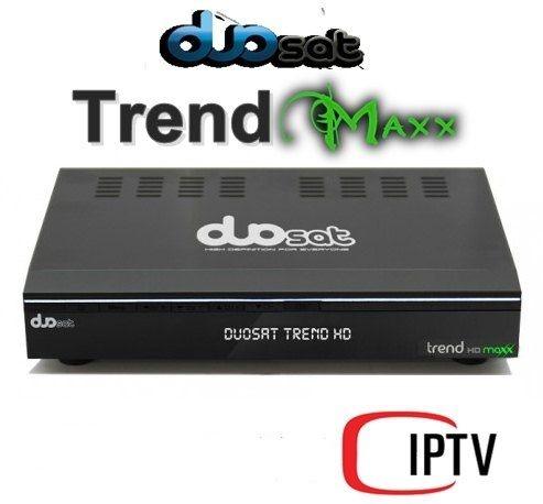 receptor duosat trend hd maxx
