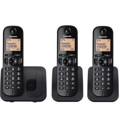 TELEFONE PANASONIC KXT-G213 3 BASES