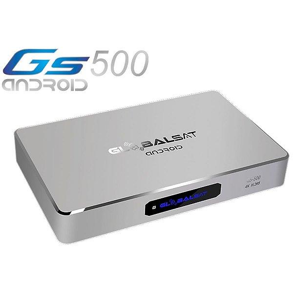RECEPTOR GLOBALSAT GS 500 ANDROID ULTRA HD 4K - ONDEMAND