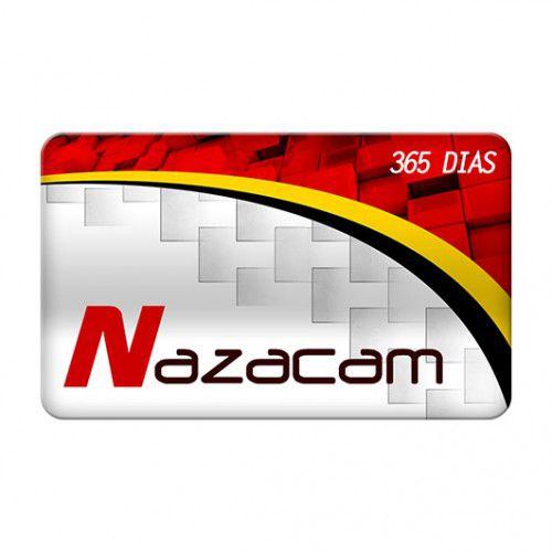 NAZACAM PARA NAZABOX CARTÃO COM 365 DIAS