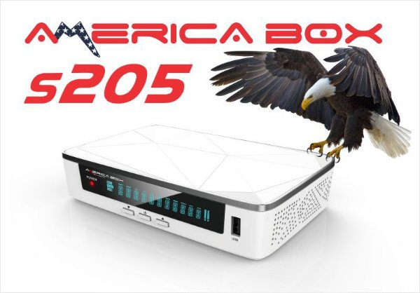 RECEPTOR AMERICA  plus BOX S-205 WIFI IPTV