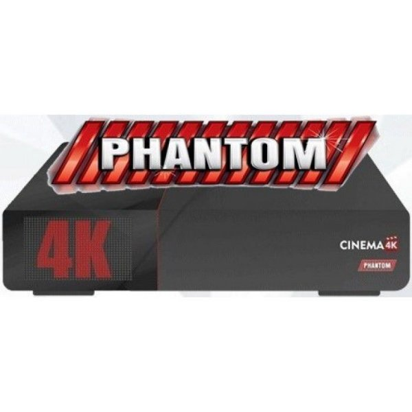 RECEPTOR PHANTOM CINEMA 4K ACM IPTV/SKS/IKS