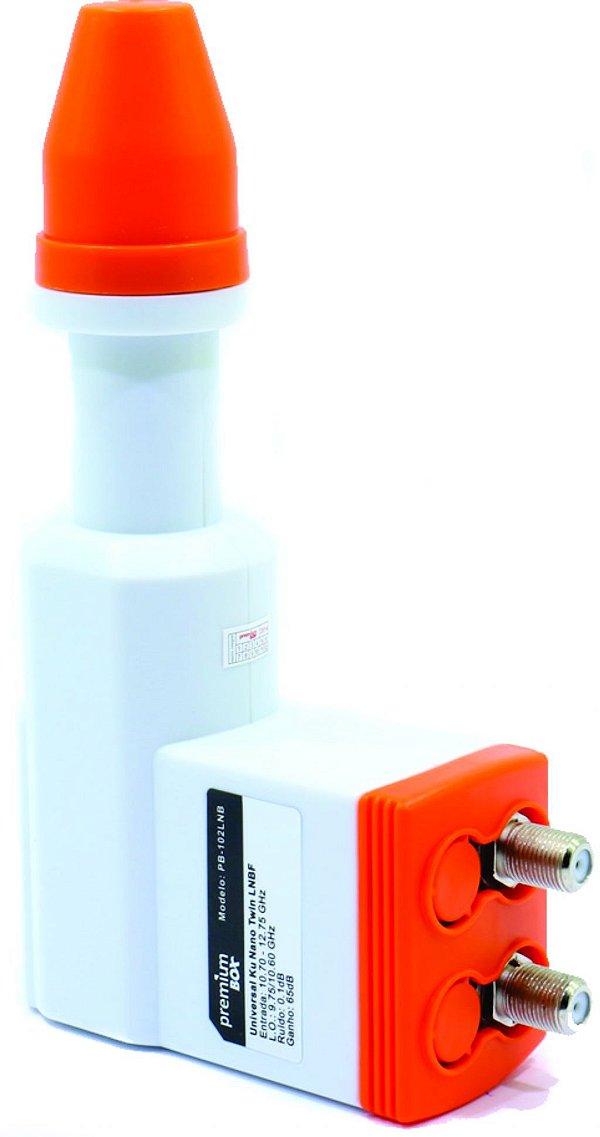 Lnb Ku Lnb Kucom 2 Saídas Nano Anti-chuva Premium Box