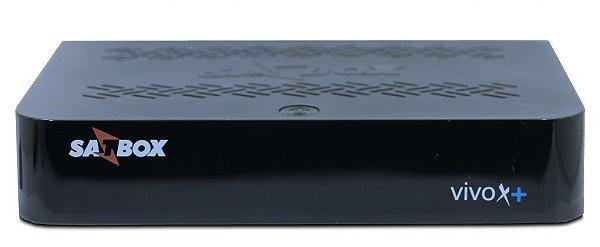 RECEPTOR SATBOX VIVO X PLUS  + WIFI ULTRAHD 4K - ACM