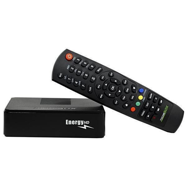 RECEPTOR TOCOMBOX ENERGY HD H265 IKS SKS IPTV WI-FI ACM