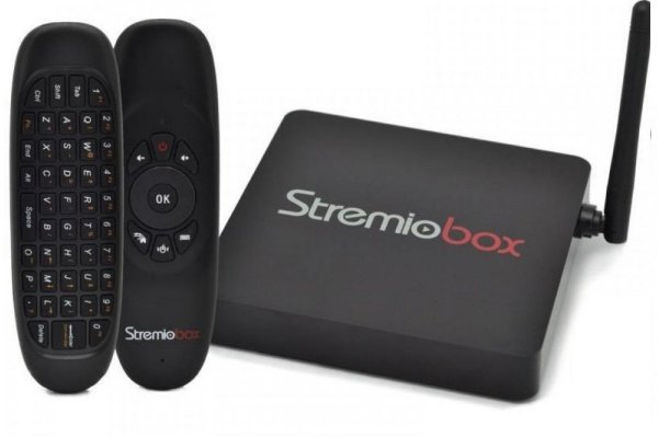 Receptor FTA StremioBox S905X Red Edition 4K Android 6.0