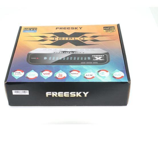RECEPTOR FREESKY TRIPLO XXX 3 TUNER