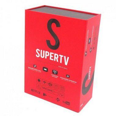 SUPERTV VERMELHO 4K