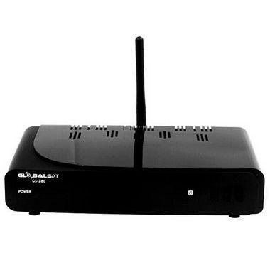 globalsat gs280 ultra hd com wi-fi/hdmi/usb