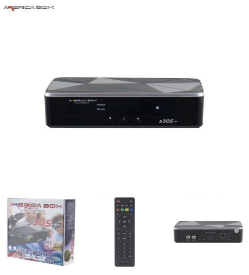 AMERICA BOX S-305 PLUS 2020 - 4K -