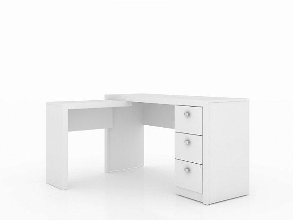 Mesa em L com 3 gavetas - ME4101