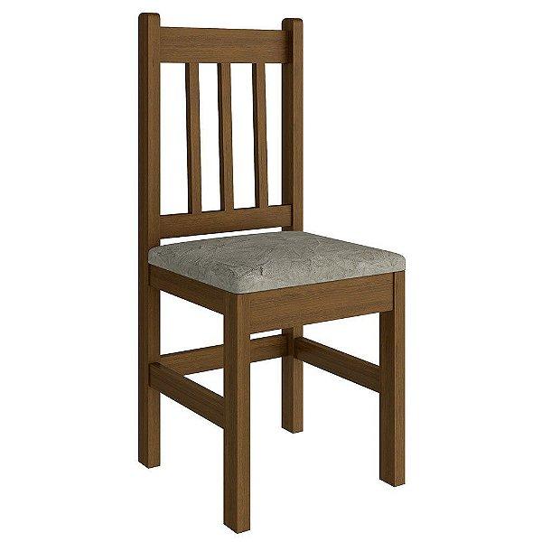 Cadeira Estofada em Madeira Maciça - HB15