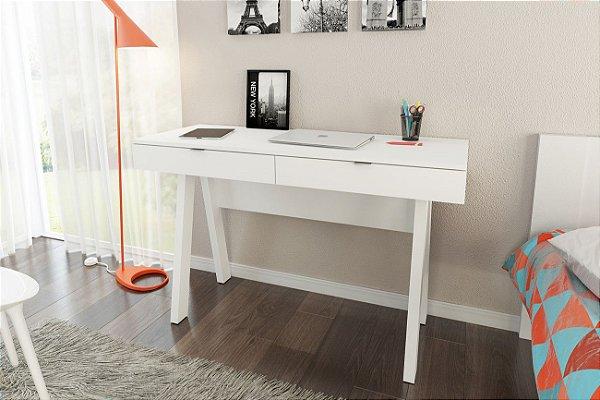 Escrivaninha Salinas com 2 gavetas | Mesa de escritório
