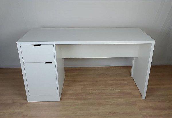 Mesa Escrivaninha com 1 Gaveta e Armário 150x60x80 | em MDF | TreeMobili