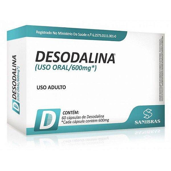DESODALINA - 60 CÁPSULAS  POWER SUPPLEMENTS