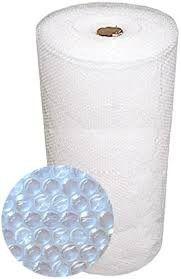 Bobina Plástico Bolha Clean  27 Micras - 120 Cm x 100 Metros