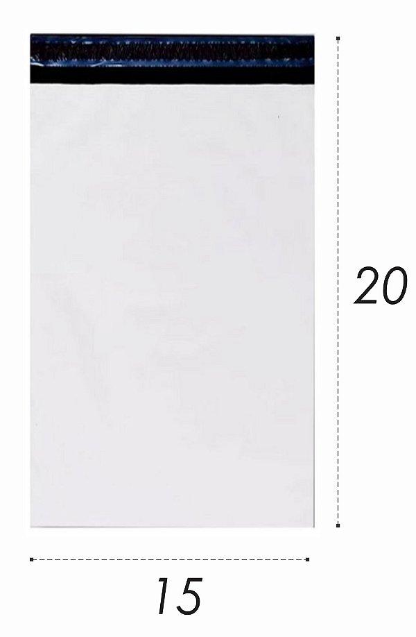 Envelope Plástico de Segurança Lacre 15x20cm